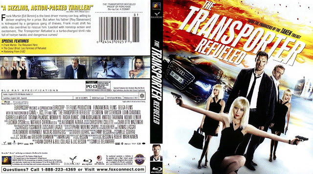 The Transporter Refueled Bluray Cover