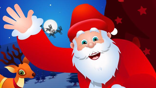 Cartoon Santa Claus Images