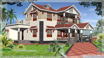 Home Elevation - 212 Sq M (2285 Sq. Ft) - December 2011