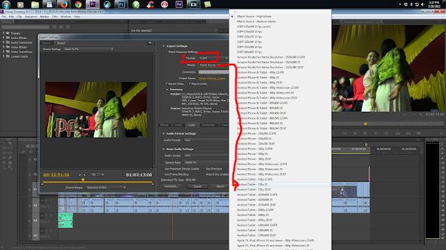 Cara Render Adobe Premiere Pro CC Kualitas Bagus File Ringan