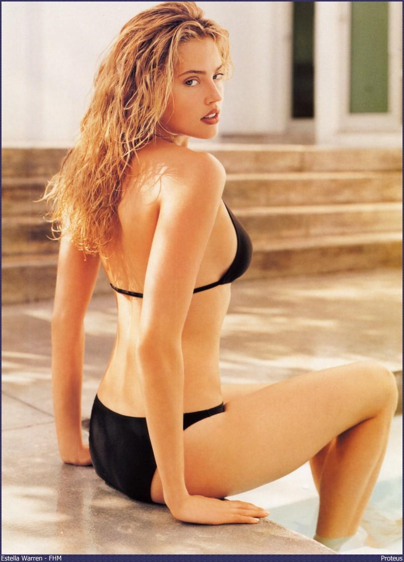 Bikini Model Estella Warren  Free Hd Wallpapers-2432