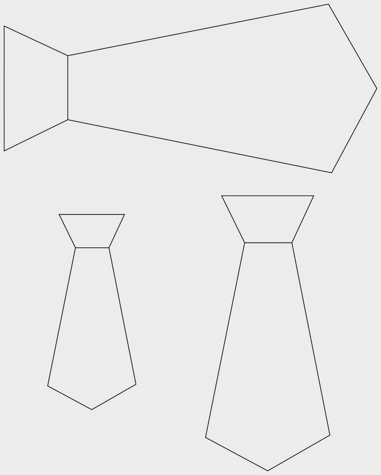 Necktie Template. pin tie clipart outline 15. pin bow tie ...