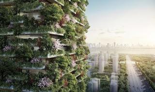 Çin yeşil kuleler