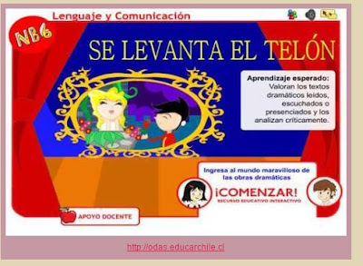 http://odas.educarchile.cl/objetos_digitales/odas_lenguaje/basica/odea05_nb6_se_levanta_el_telon_texto_dramatico/index.html