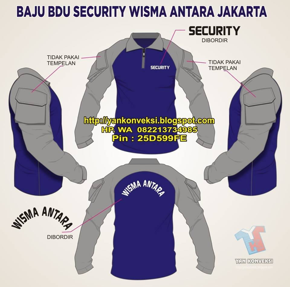 BAJU BDU SECURITY