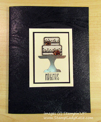 "card made with Stampin'UP!'s ""Piece of Cake"" stamp set and ""Cake Builder"" Punch by StampLadyKatie"