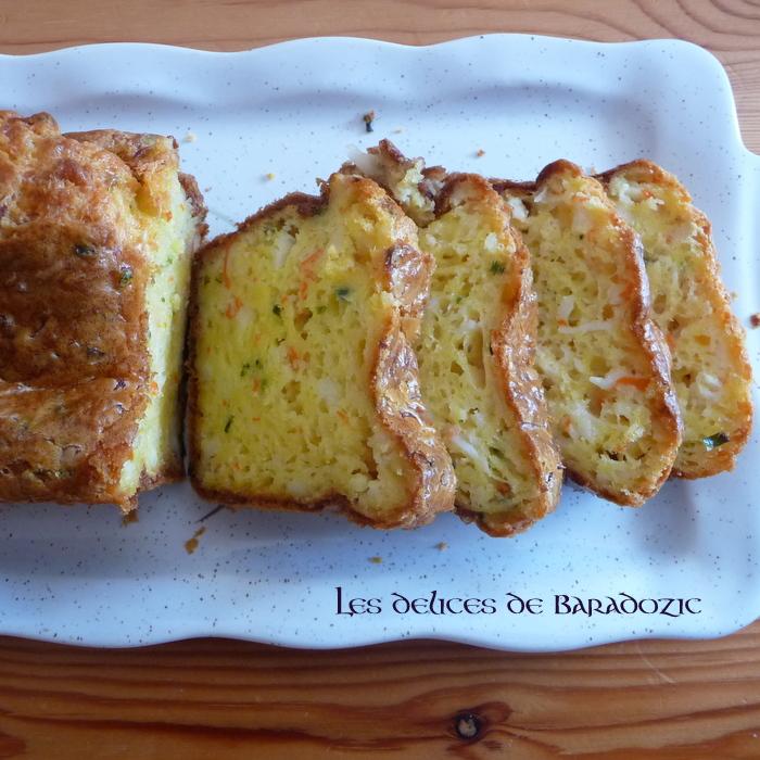 Cake Au Surimi Et Tomates Cerises