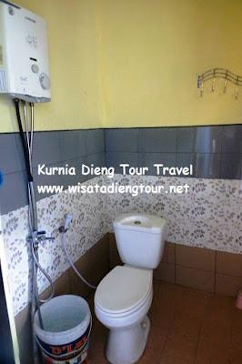 kamar mandi homestay yola dieng