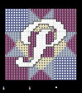 Alfabeto para Punto de Cruz. Alphabet for Cross Stitch.