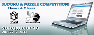 Puzzle and Sudoku Competition at Sudoku Cup website