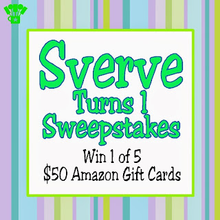 Sverve First Birthday Pinterest Sweepstakes. #SverveTurns1