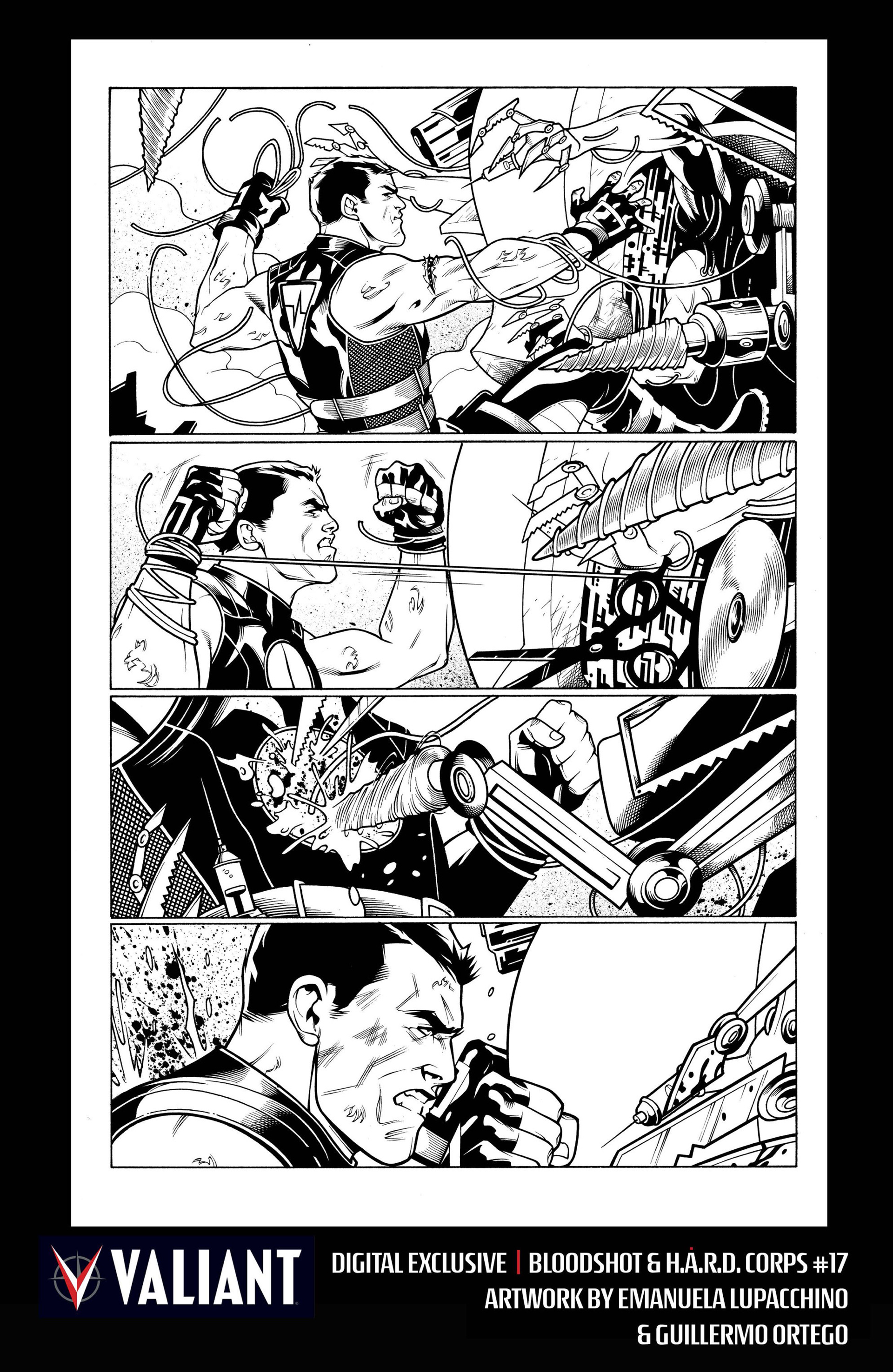 Read online Bloodshot and H.A.R.D.Corps comic -  Issue #17 - 33