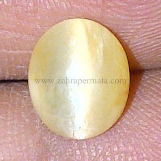 Batu Permata Cats Eye Opal + Memo - ZP 610