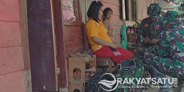 Kunjungi Rumah Warga, TMMD ke-103 Toraja Utara Cek Kesehatan Semua Warga Karre