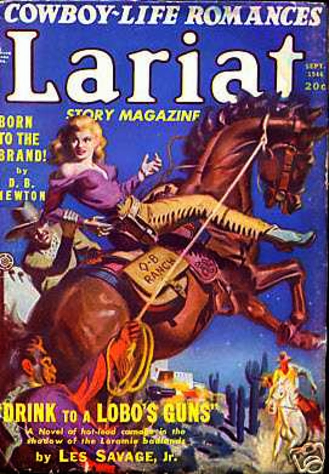 Rough Edges: Saturday Morning Western Pulp: Lariat Story