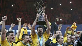 Θερμά συγχαρητήρια της ΕΣΚΑΝΑ στην ΑΕΚ για  την κατάκτηση του Basketball Champions League