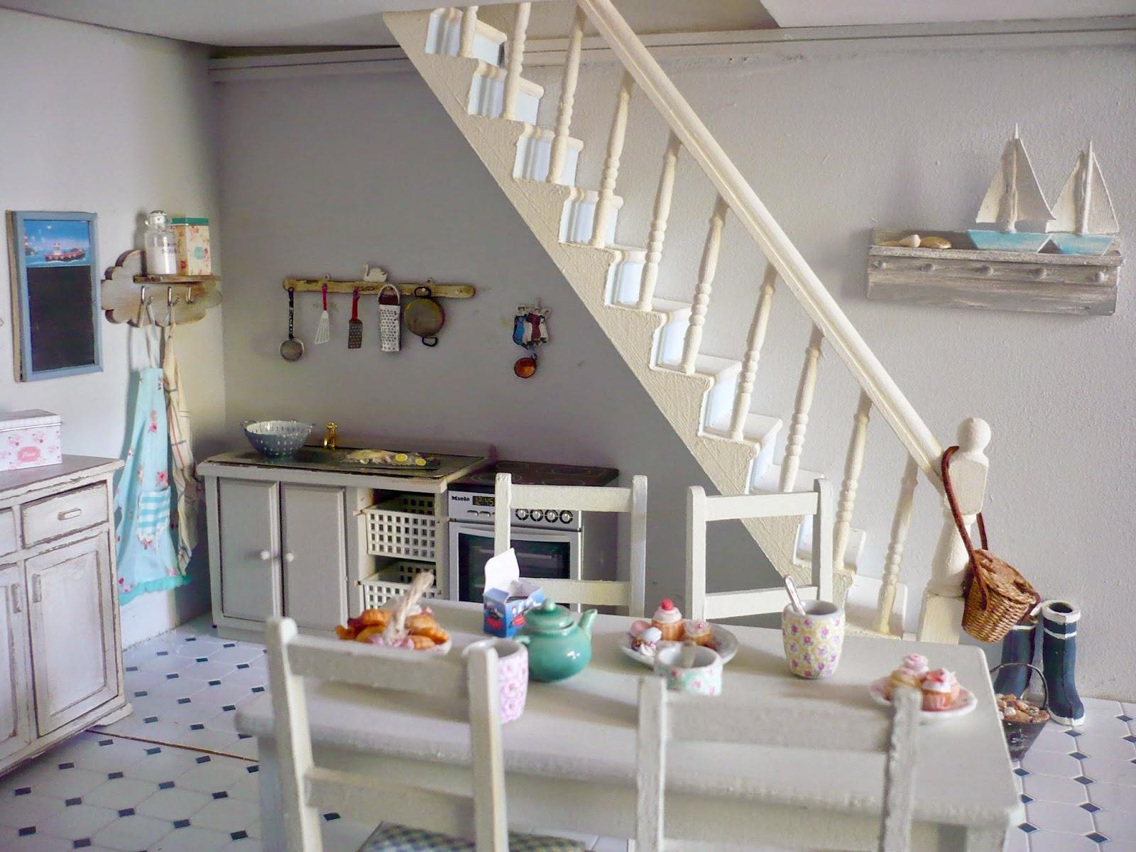 genevieve 39 s miniacollection nouveaut s dans la cuisine bord de mer new details in the seaside. Black Bedroom Furniture Sets. Home Design Ideas