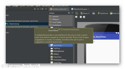 Android Studio - SearchView