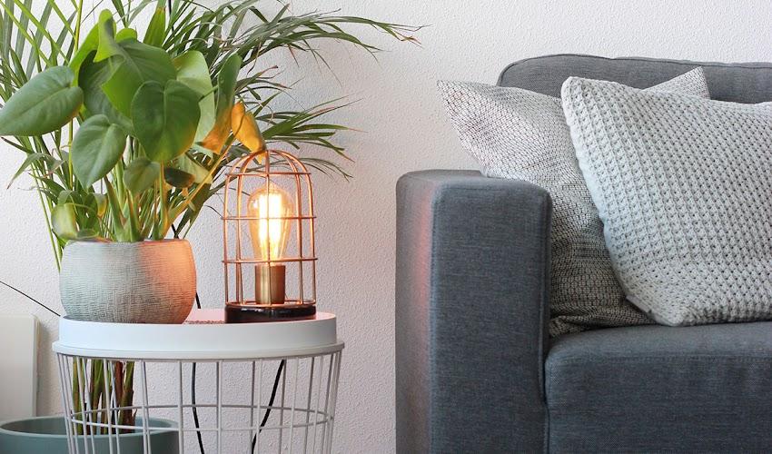 3 manieren om een tafellamp in je interieur te verwerken