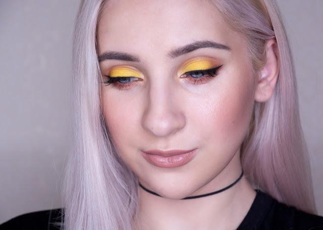 желтый макияж глаз