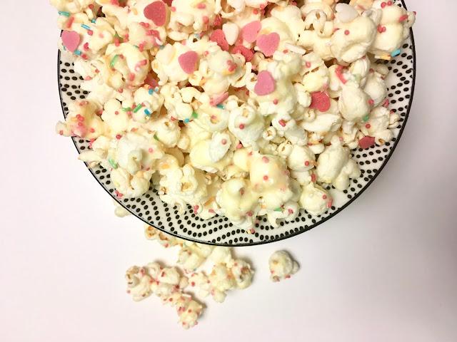 Walentynkowy popcorn