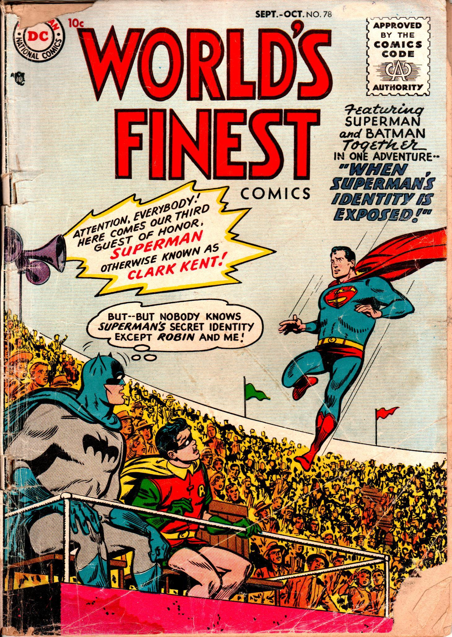 Read online World's Finest Comics comic -  Issue #78 - 1