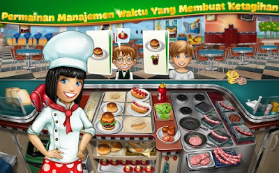 Sekarang ini aku akan kembali lagi untuk menyebarkan kepada teman sebuah game android terbar Cooking Fever MOD APK Free Download v2.7.2 (Unlimited Gold + Gems)