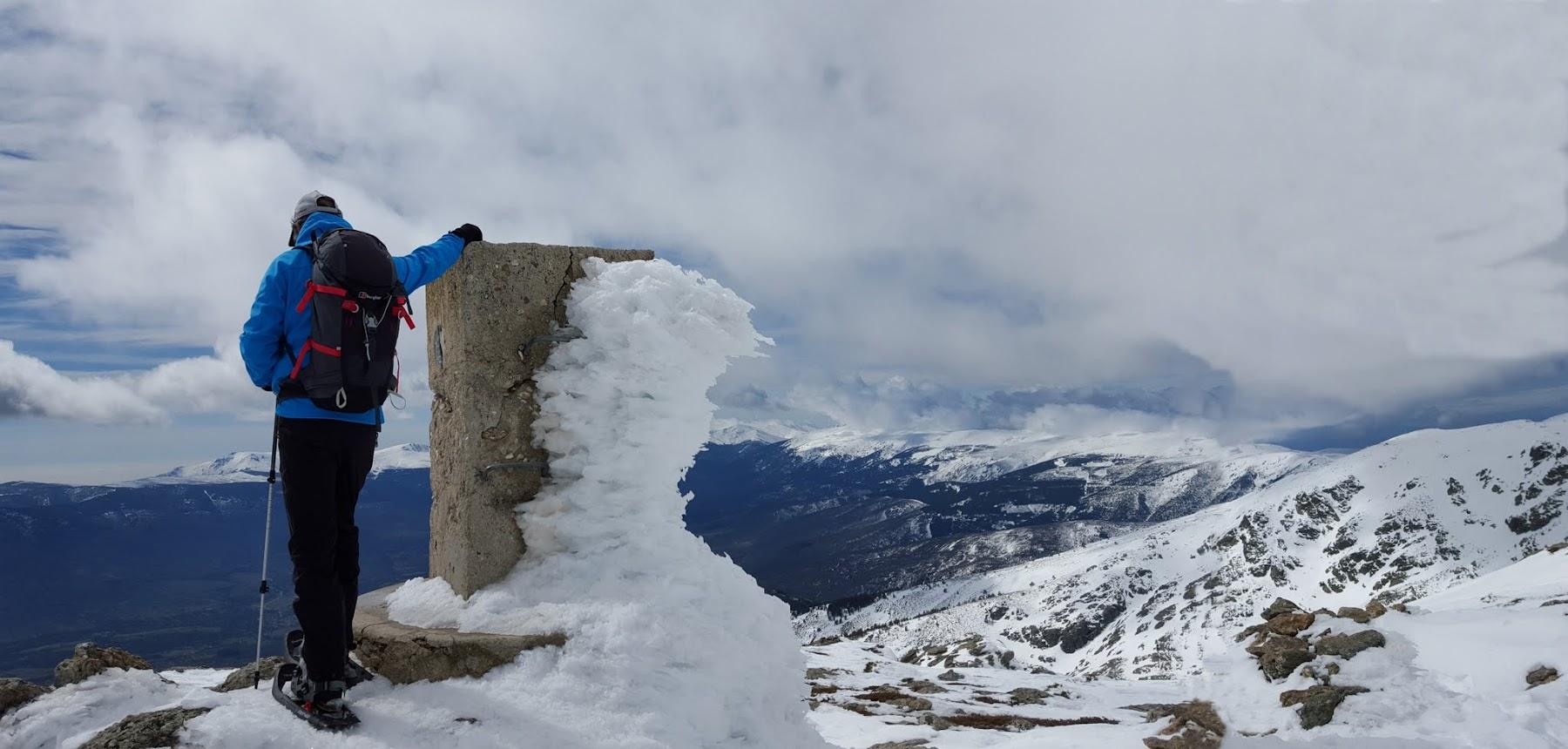 Senderismo invernal, El Nevero