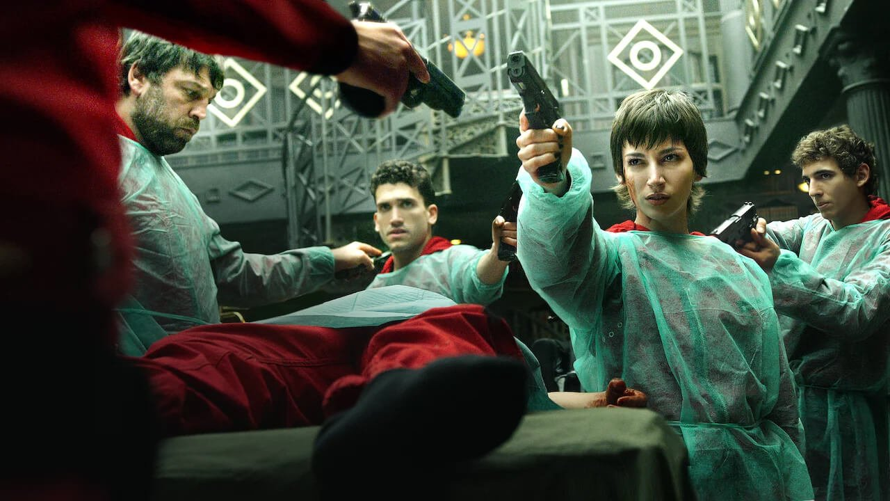 Money Heist: First images of Ursula Corberó and Miguel Angel Silvestre together in the filming of season 5