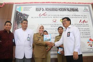 Pengurus Badan Kelengkapan Pramuka Kwartir Kota Palembang Dilantik