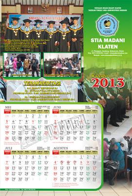 Desain Kalender 3 Lembar - Gubug Gallery
