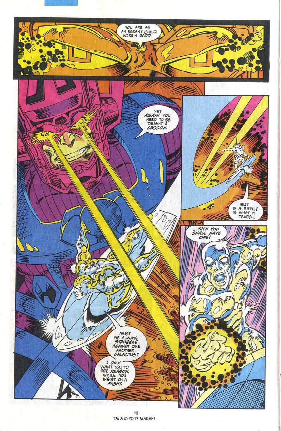 Read online Silver Surfer (1987) comic -  Issue #75 - 14