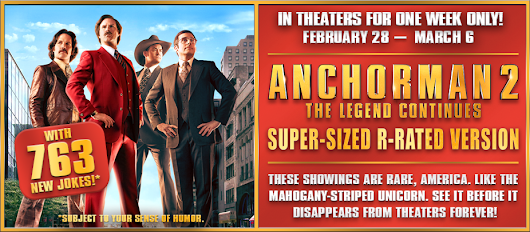 Anchorman 2: Super-Sized R-Rated Version