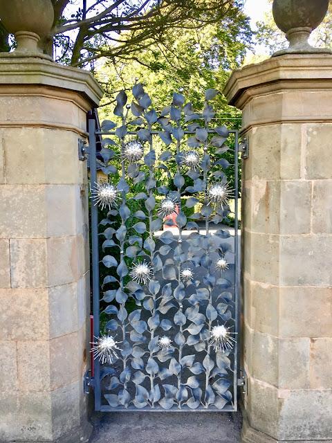 Front Gates, Jupiter Artland, Edinburgh