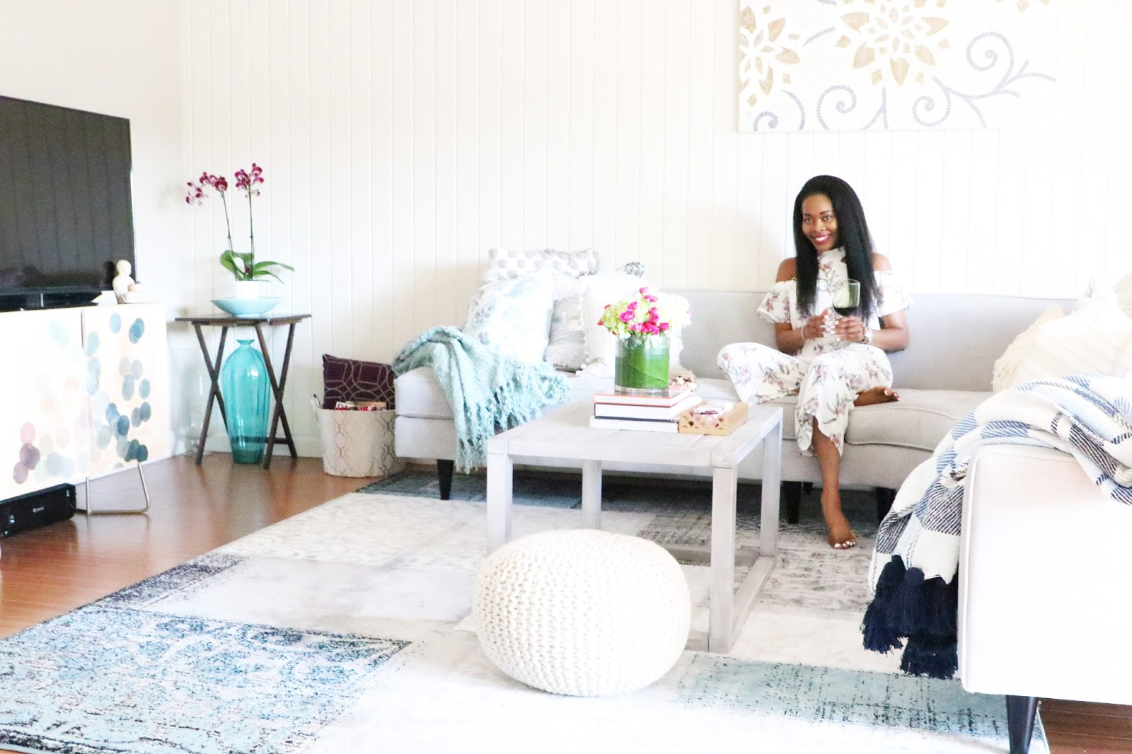 My Living Room Tour With Apt2B | STYLE WEEKENDER