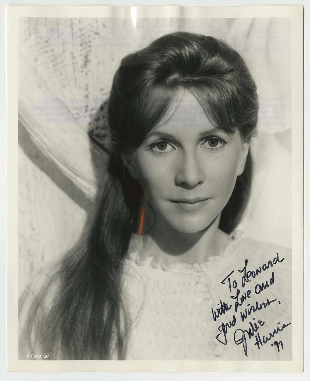 Julie Harris born December 2, 1925