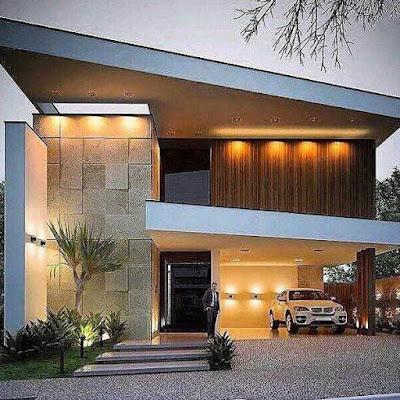 Desain Rumah Unik Mewah
