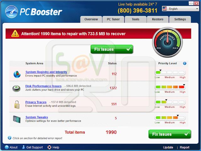 PC Booster (Falsos optimizadores)