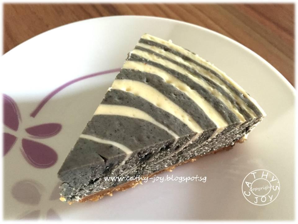 Zebra Cake Recipe Joy Of Baking: Cathy's Joy: Zebra Cheesecake