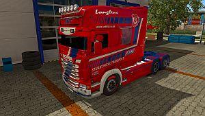 Stuart Nicol Transport skin for Scania RJL Longline