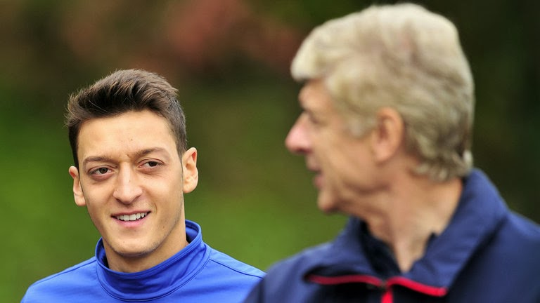 Arsene Wenger Confident Ozil will be fit to face Norwich