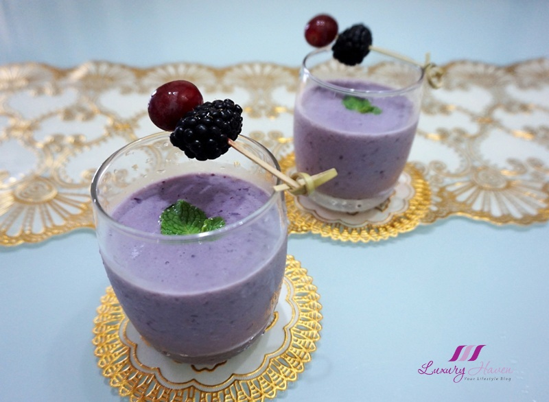 blackberry grape smoothie top antioxidant rich fruits
