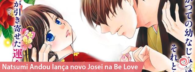 Natsumi Andou lança novo Josei na Be Love