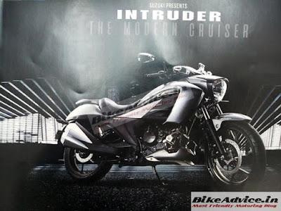 Bocoran Brosur Suzuki Intruder 150