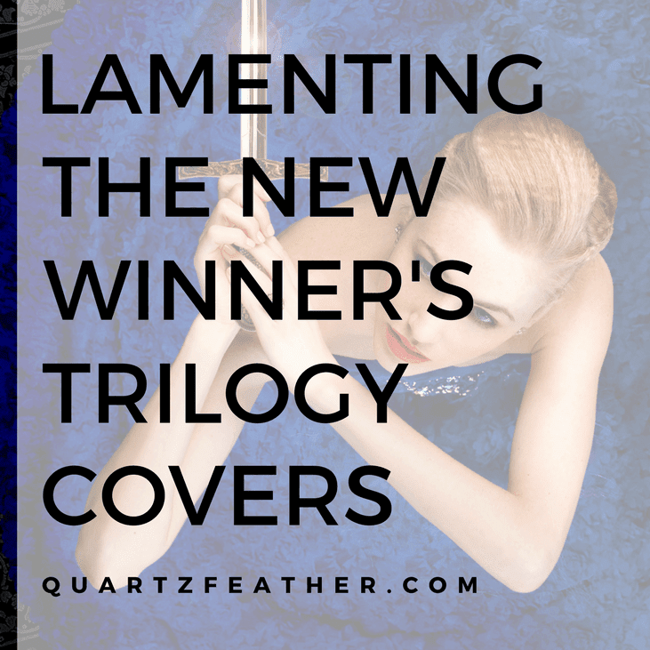 Lamenting the New Winner's Trilogy Covers