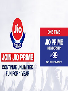 last Date : Reliance Jio Prime Recharge Rs.99