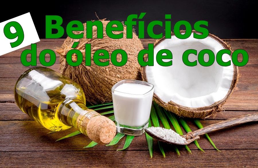 9 benefícios surpreendentes do óleo de coco
