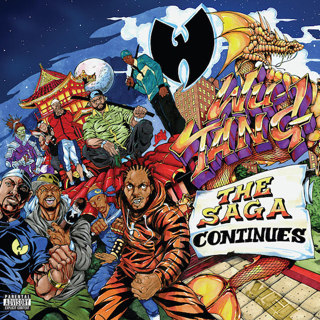 LISTEN TO WUTANG CLAN - THE SAGA CONTINUES (WITHOUT SKITS AND INTROS)