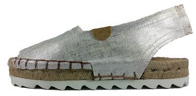"calzado elche, Women´s ILICENCA Mizar ""Linen-Jute"" Espadrilles, Pearl White elche shoe city"