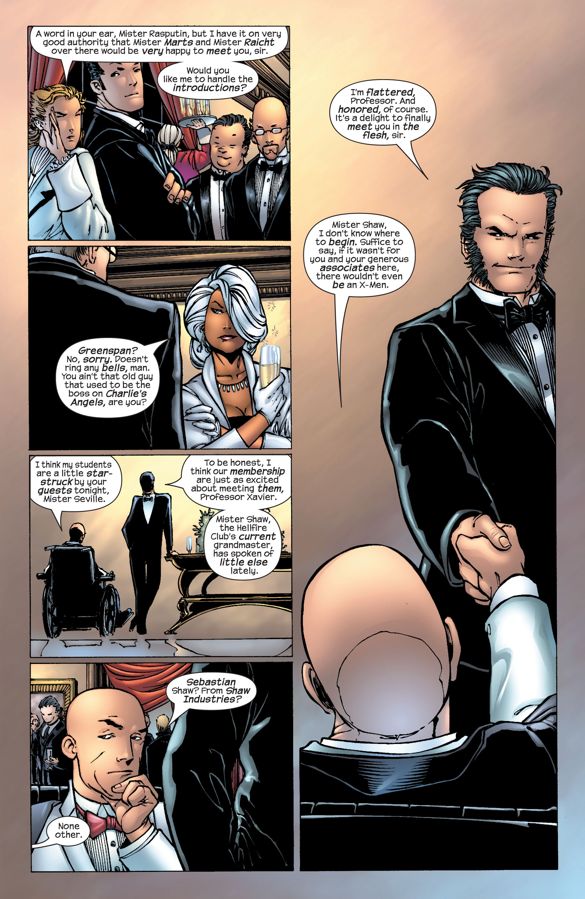 Read online Ultimate X-Men comic -  Issue #25 - 8